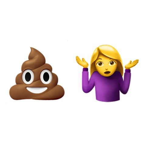 Emoji Domain Is Available Person Shrugging Pile Of Poo Emoji Emoji Characters How To Memorize Things