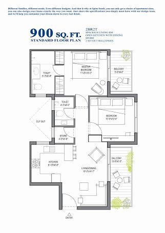 Image Result For 900 Sq Ft House Plans Duplex Floor Plans Small House Design Floor Plan Floor Plan Design