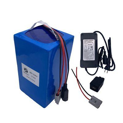 Ad Ebay Link Ebike Battery Li Ion 48v25ah 52v Charger Bms Rechargeable Electric Scooter 1000w E Bike Battery Lithium Battery Charger Battery Pack Charger