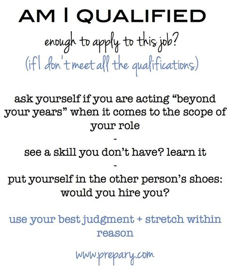 What does fit mean in the job search and interview process? Job - job qualifications