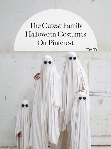 Family Halloween costumes are the absolute cutest and we can't blame anyone for planning for October 31st many, many months ahead of time.