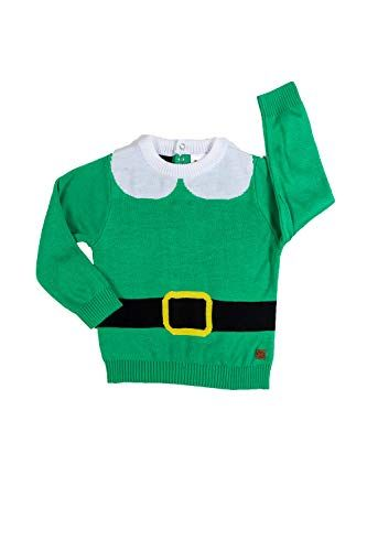 Tipsy Elves Baby Sweater Cute Ugly Xmas Sweater for Infant