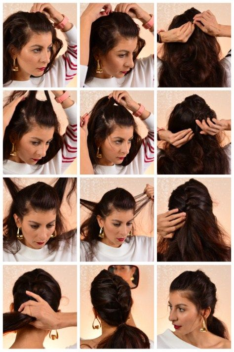 Cute And Easy Bobby Pin Hairstyles 3 New Hairstyles You Can Do In Minutes Beauty Chez Rama Braided Hairstyles Updo Bobby Pin Hairstyles Easy Hairstyles