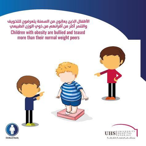 الأطفال الذين يعانون من السمنة يتعرضون للتخويف والتنمر أكثر من أقرانهم من ذوي الوزن الطبيعي Children With Obesity Are Bul Childhood Obesity Childhood Children