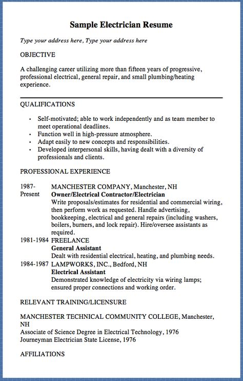 Elementary Music Teacher Resume Example - http\/\/resumesdesign - examples of electrician resumes