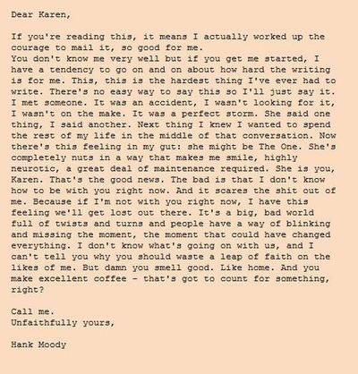 Californication <3 love this letter