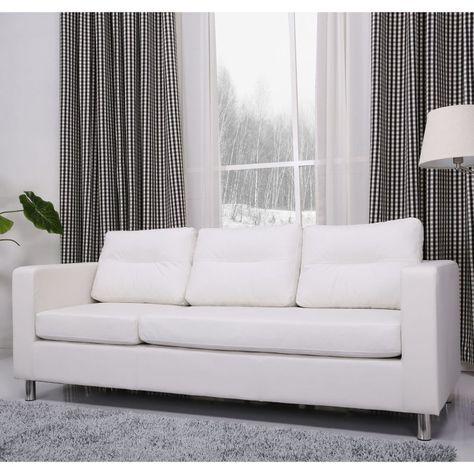 Fine Gold Sparrow Detroit Faux Leather Sofa White Adc Det Sof Dailytribune Chair Design For Home Dailytribuneorg