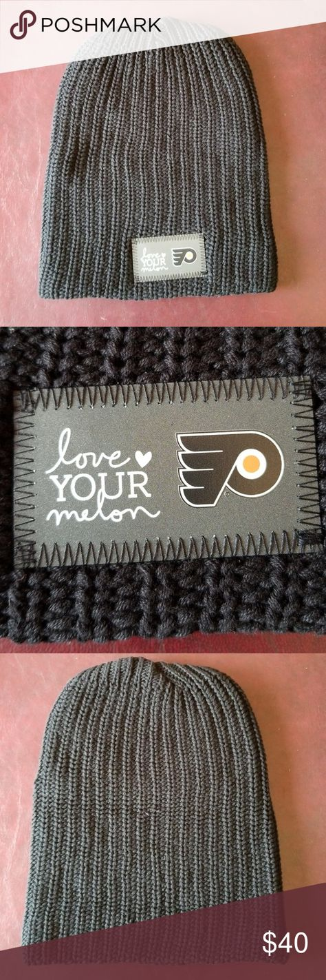 Love Your Melon Slouchy Philadelphia Flyers Beanie Limited Edition. Brand  new Love Your Melon Accessories Hats 74334df62e0