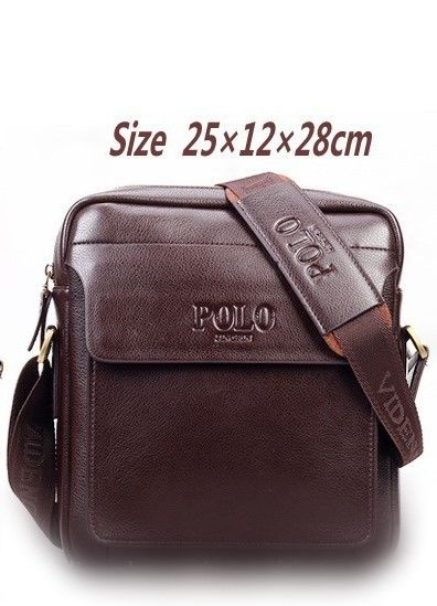 MEN POLO VIDENG MESSENGER SMART SHOULDER BAG LARGE  a8879807f98