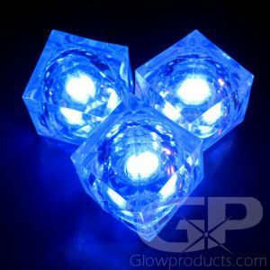 Light Up Led Ice Cubes Multi Color Ice Cube Lights Led Ice Cubes Glow Stick Party