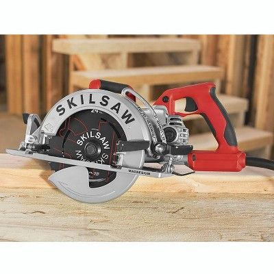 Skilsaw 7 1 4 Lightweight 15a Corded Magnesium Worm Drive Circular Saw In 2020 Worm Drive Circular Saw Circular Saw Reviews Worm Drive