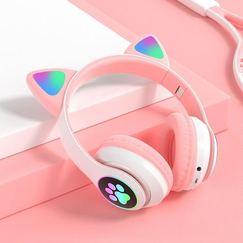 Gaming Headphones, Headphones With Microphone, Gaming Headset, Noise Cancelling Headset, Hifi Stereo, Kawaii Accessories, Gamer Room, Bass, App Store