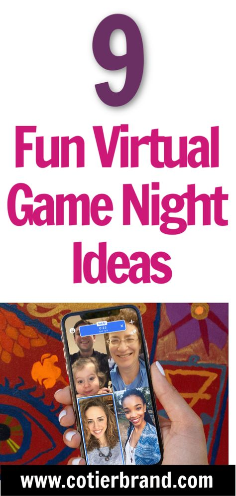 Virtual Family Games, Virtual Families, Family Party Games, Adult Party Games, Adult Games, Girl Scout Activities, Friend Activities, Fun Games For Teenagers, Heads Up Game