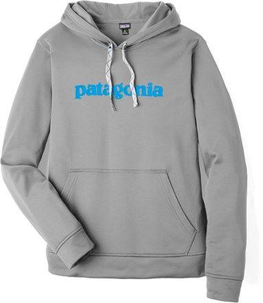various styles watch footwear Patagonia Text Logo PolyCycle Hoodie - Men's | REI Co-op | Hoodies ...