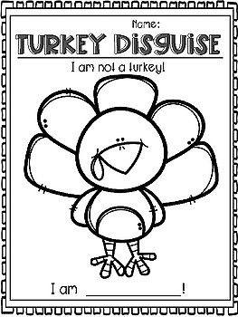 Turkey Trouble Freebie Thanksgiving Kindergarten Thanksgiving Preschool Thanksgiving School