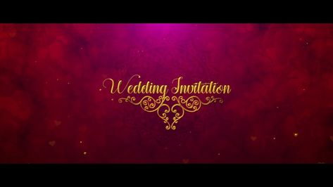 Wedding Invitation Video Template Free Download After Effects Wedding Invitation Background Wedding Invitation Video Free Wedding Invitation Templates
