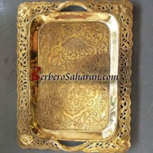 Copper Tray/ table handmade & engraved in Constantine, Algeria ...