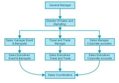 Sales And Marketing Department Organizational Chart HttpWww