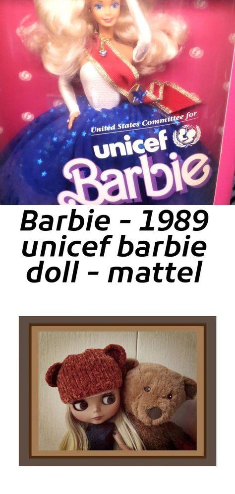 Barbie - 1989 unicef barbie doll - mattel