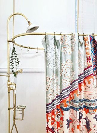 Interior Inspo Shower Curtain Ideas For Spring Floral Boho Boho Shower Curtain Boho Shower Spring Interior Design