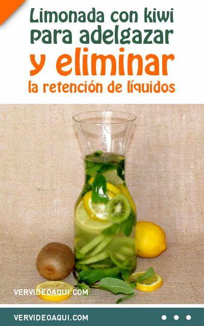 Agua limonada para adelgazar