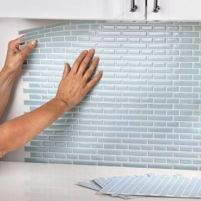 Customize A Room In Your Dorm Or Apartment Maybe A Backsplash Behind Your Sink Or Add A Small Accent With The Stick On Tiles Home Decor Tips Easy Home Decor