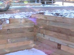 How To Build A Timber Retaining Wall Retaining Wall Wood Retaining Wall Landscaping Retaining Walls