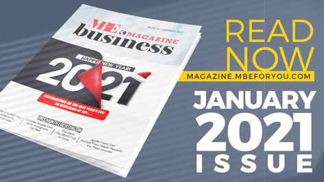 NEW YEAR RESOLUTION 2021- MBE BUSINESS MAGAZINE 61st