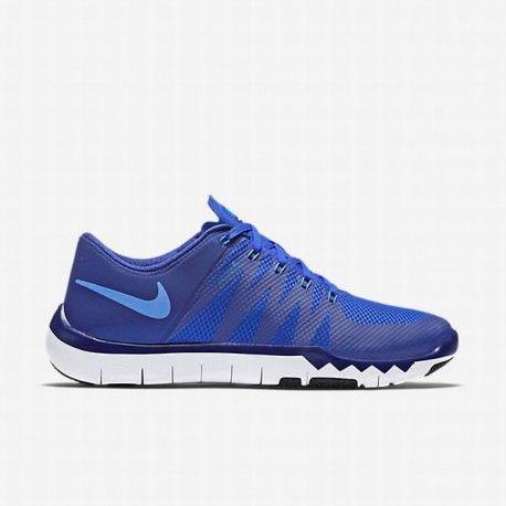 the latest ef69c 442ad Nike Men s Deep Royal Blue Racer Blue Black Photo Blue Free Trainer 5.0  Training Shoe