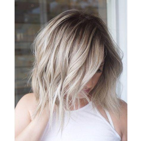 Beige Blonde Babylights Hair Ekkor 2019 Frizura és Ombre