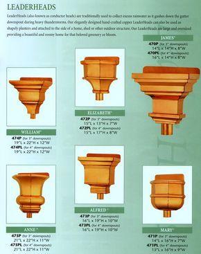 Cbd S Custom Downspout Funnels Leaderheads Or Scuppers Details Page Idei Dlya Doma Drenazhnye Resheniya Dlya Doma