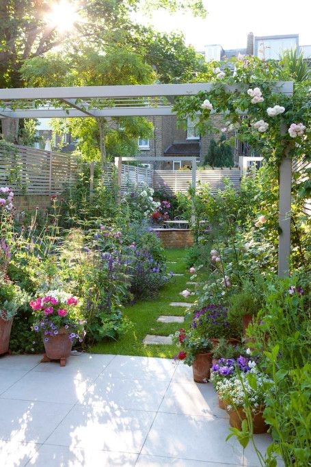Contemporary style, traditional planting Garden - Notting Hill London UK - Jo Thompson Landscape and Garden Design