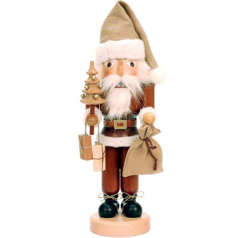 Found it at Wayfair - Santa with Christmas Tree Nutcracker