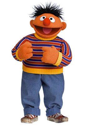 Ernie The Muppet Show Sesame Street Characters Bert Ernie