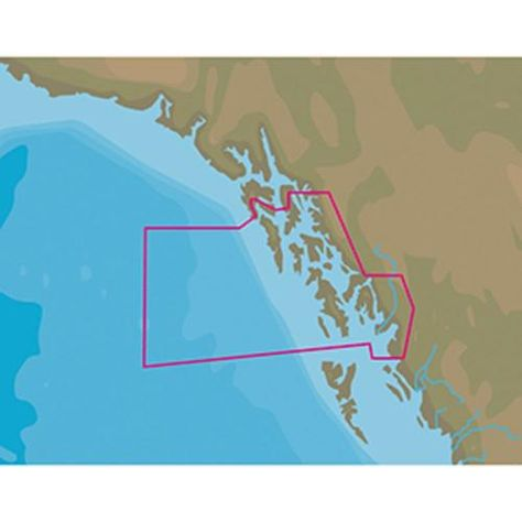 C-Card Format C-MAP NT NA-C811 Chatham Strait to Prince William Sound