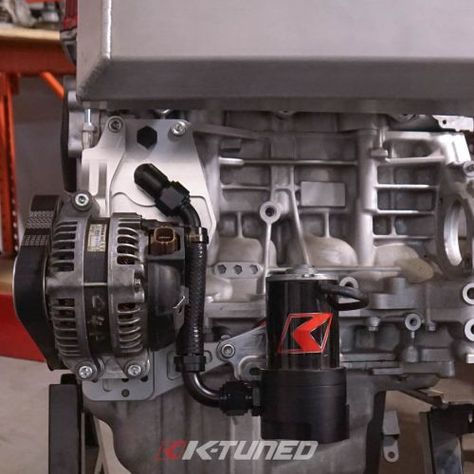 K Tuned Alternator Water Plate Kit With Electric Water Pump Electric Water Pump Alternator Water Pumps
