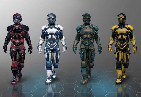 Future Soldier Outfit Textures - DAZ 3D Models - 3D CG
