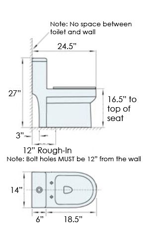 Image Result For Toilet Dimensions Inches Toilet For Small Bathroom Compact Bathroom Small Toilet