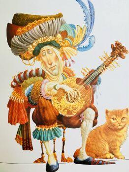 Sernade For An Orange Cat 2 165 Pieces Character Design Art