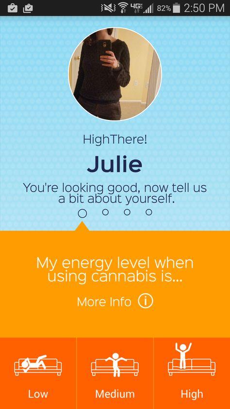 Dating app per marjuana