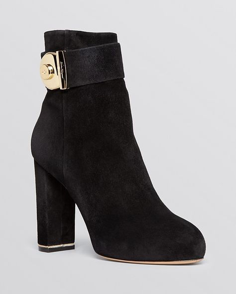 dc101118f19 Salvatore Ferragamo Platform Booties - Fiamma High Heel on shopstyle ...