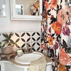 Agneta Shower Curtain Home Remodeling Interior Bathroom Decor