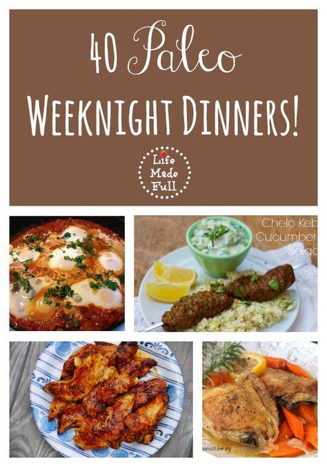 Paleo Weeknight Dinners