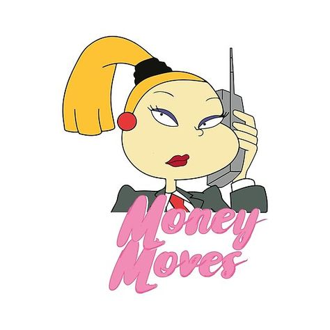 Charlotte Pickles from Rugrats - Money Moves | ChildHood ThrowBack