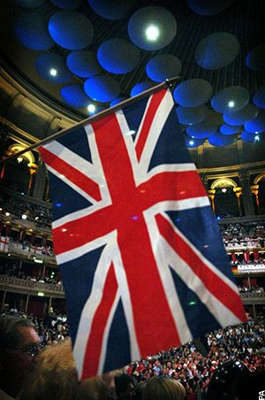 Last Night of the Proms - The Proms, more formally known as The BBC Proms, or The Henry Wood Promenade Concerts presented by the BBC, is an eight-week summer season of daily orchestral classical music concerts and other events held annually, predominantly in the Royal Albert Hall in London. Founded in 1895.
