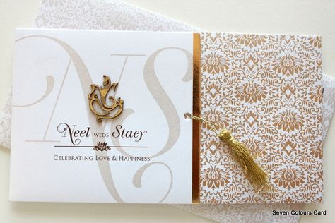 Hindu Wedding Cards : SC-8212