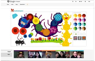 How your kids can use Google + hangouts to connect with family and friends!
