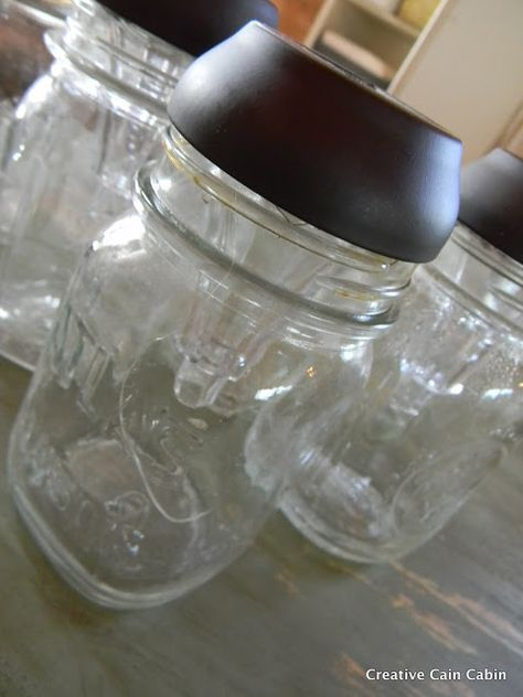 DIY - How to turn Mason jars into Solar Lights for your flower beds, driveway or yard! (Tutorial)
