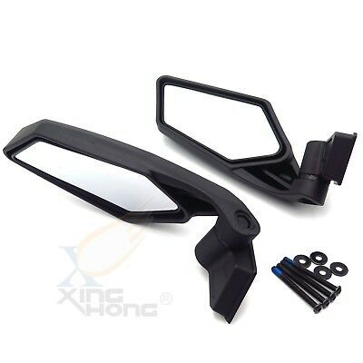 Racing Side Mirrors Set For Utv Off Road Can Am Maverick X3 2017 2018 Mirror Set Can Am Side Mirror