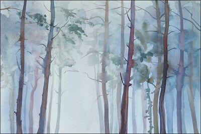 Muralo Fototapete Wald Baume 508013776 Ebay Baum Tapete